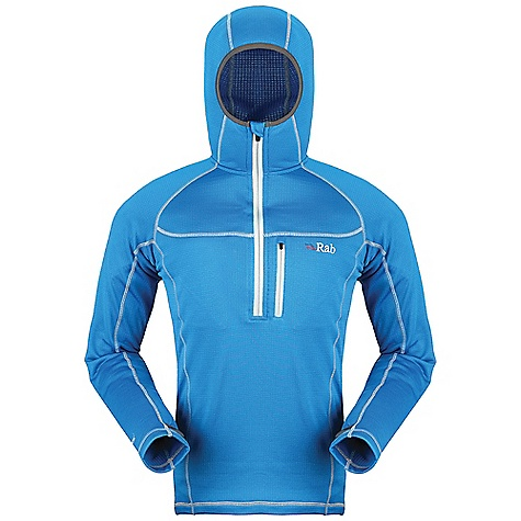 photo: Rab Women's Baseline Hoodie base layer top