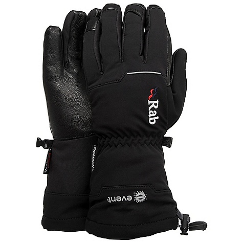 photo: Rab Latok Ice Gauntlet insulated glove/mitten