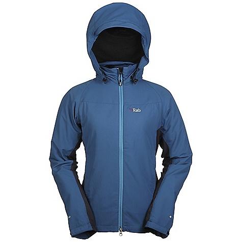photo: Rab Women's Vapour-Rise Jacket soft shell jacket