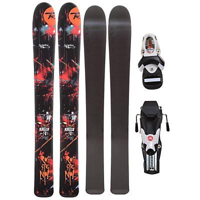 Rossignol Scimitar Jr Skis w/ Xelium Kid 45 S Bindings - Kid's