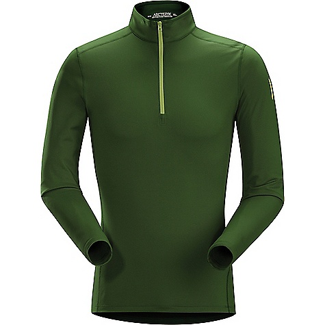 photo: Arc'teryx Men's Phase AR LS Zip Neck long sleeve performance top