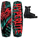 Hyperlite Clash Wakeboard 136 w/ Focus Bindings - Men's