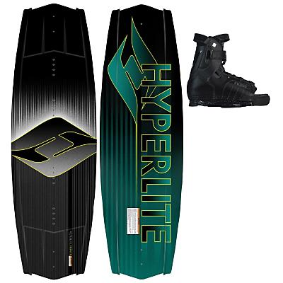 Hyperlite Tribute Wakeboard 142 w/ Focus Bindings - Men's