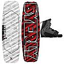 Byerly Monarch Wakeboard 54 w/ Verdict Bindings - Men's