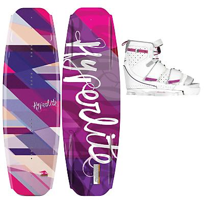 Hyperlite Blur Wakeboard 131 w/ Lark Bindings - Women's