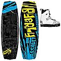 Byerly Assault Wakeboard 53 w/ Onset Bindings - Men's
