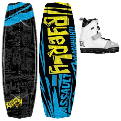 Byerly Assault Wakeboard 55 w/ Onset Bindings - Men's
