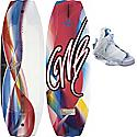 CWB Lotus Wakeboard 130 w/ Bliss Bindings - Women's