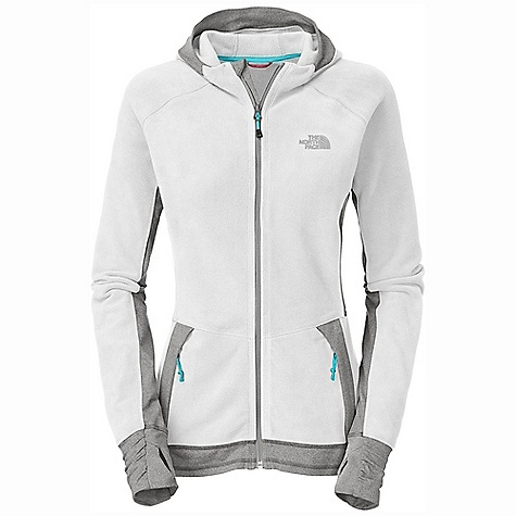 photo: The North Face Laura Hybrid Hoodie fleece jacket