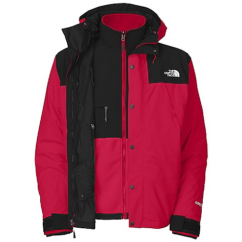 photo: The North Face Mountain/Denali Triclimate component (3-in-1) jacket