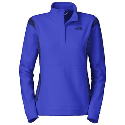 The North Face Women's TKA 100 Microvelour Snapneck