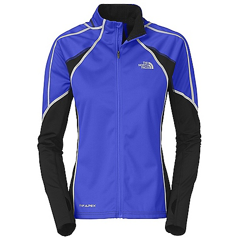 photo: The North Face Women's Apex ClimateBlock Full Zip wind shirt