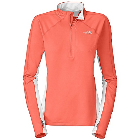 photo: The North Face Women's Impulse 1/4 Zip long sleeve performance top
