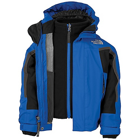photo: The North Face Nimbostratus TriClimate Jacket component (3-in-1) jacket