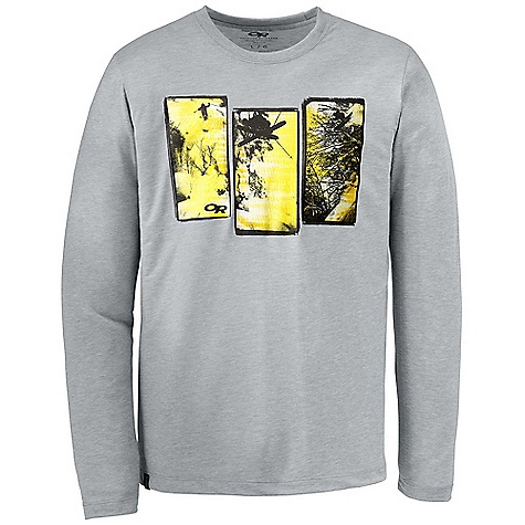 photo: Outdoor Research Cold Smoke L/S Tech Tee long sleeve performance top