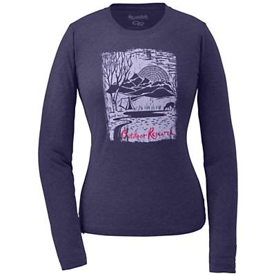Outdoor Research Women's Journey's End L/S Tech Tee