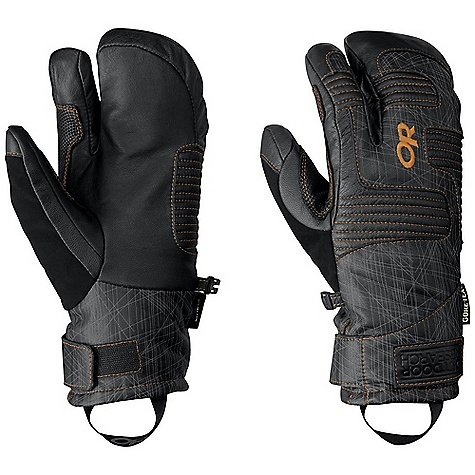 photo: Outdoor Research Point'n Chute 3-Finger Gloves insulated glove/mitten