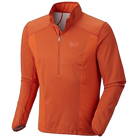 photo: Mountain Hardwear Effusion Power 1/2 Zip water resistant shell