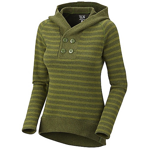 photo: Mountain Hardwear Sevina Hoody fleece top