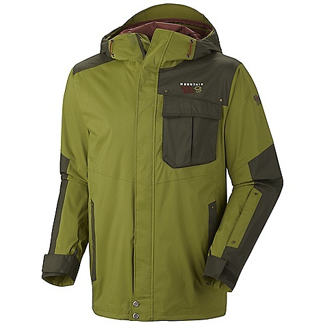 photo: Mountain Hardwear Snowzilla Shell Jacket waterproof jacket