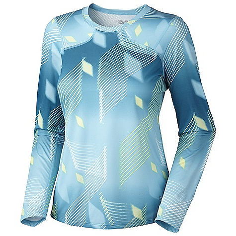 photo: Mountain Hardwear Wicked Electric L/S long sleeve performance top