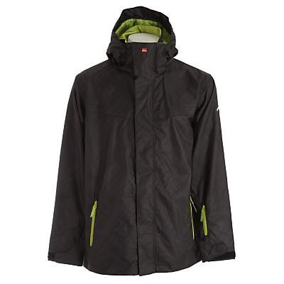Quiksilver Last Mission Prints Shell Snowboard Jacket - Men's
