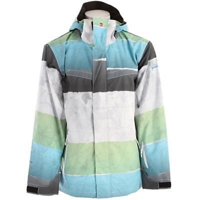 Quiksilver Last Mission Prints Shell Snowboard Jacket - Men's