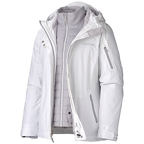 photo: Marmot Julia Component Jacket component (3-in-1) jacket
