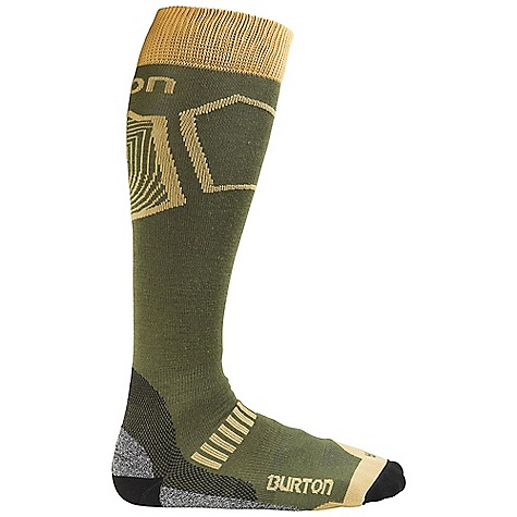 photo: Burton Men's Ultralight Wool Sock snowsport sock