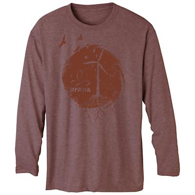 Prana Men's Heathered Graphic LS Tee