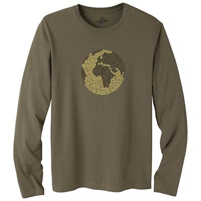 Prana Men's Organic Fair Trade Cotton Graphic LS Tee