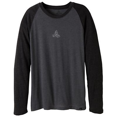 Prana Men's Raglan Heather LS Tee