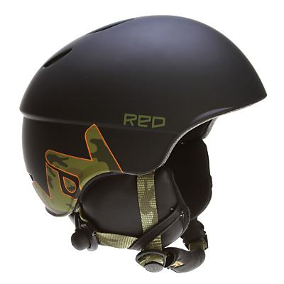 Red Hi-Fi Frends Audio Snowboard Helmet 2012- Men's