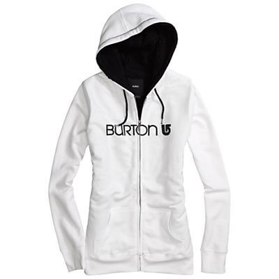 Burton Women's Her Logo Sherpa Full-Zip Hoodie