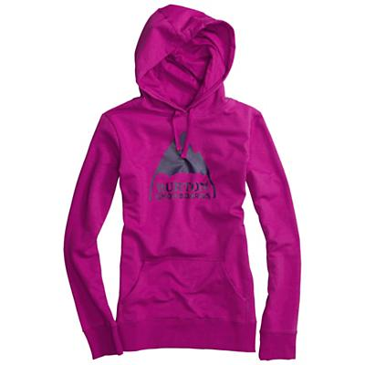 Burton Women's Mountain Logo Basic Pullover Hoodie