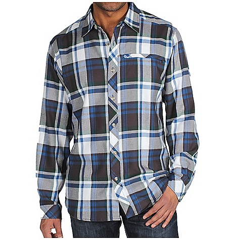 photo: ExOfficio Pocatello Plaid Micro Long-Sleeve Shirt hiking shirt