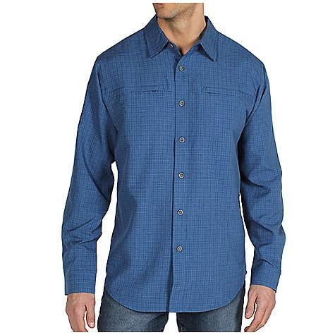photo: ExOfficio Trifecta Plaid Long-Sleeve Shirt hiking shirt