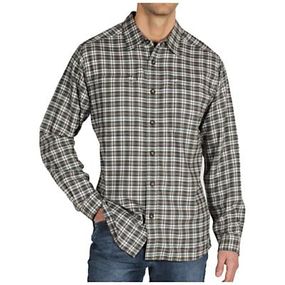 ExOfficio Men's Trailing Off Micro Plaid Flannel L/S