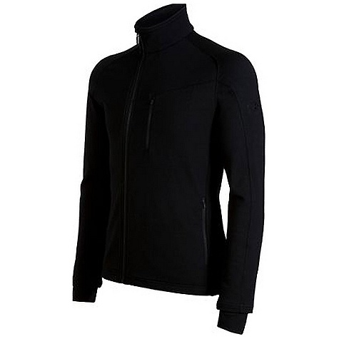 photo: Icebreaker Carve Long Sleeve Zip long sleeve performance top