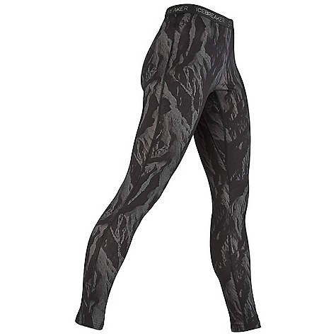 photo: Icebreaker 200 Lightweight Legging Printed base layer bottom
