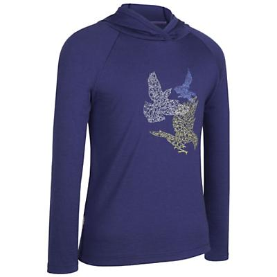 Icebreaker Girls' LS Hoody Flight