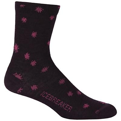 Icebreaker Women's Ultralite Starry Night 3/4 Crew