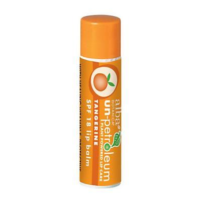 Alba Un-Petroleum Tangerine Lip Balm