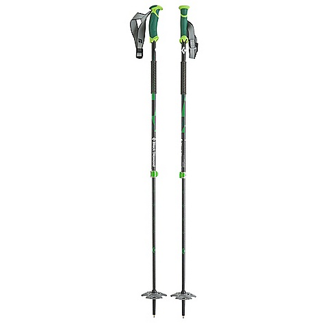 photo: Black Diamond Pure Carbon alpine touring/telemark pole