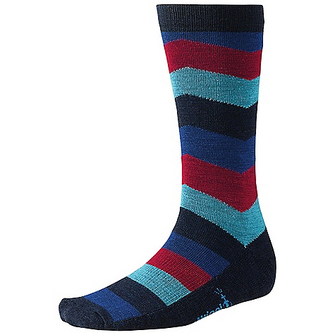 photo: Smartwool Chevron Stripe sock
