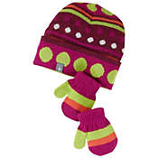 Smartwool Kids' Dot Hat / Mitt Set