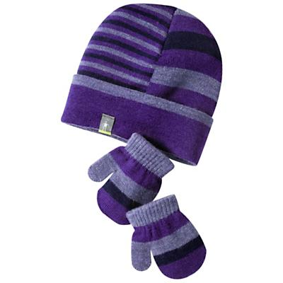 Smartwool Kids' Split Stripe Hat / Mitt Set