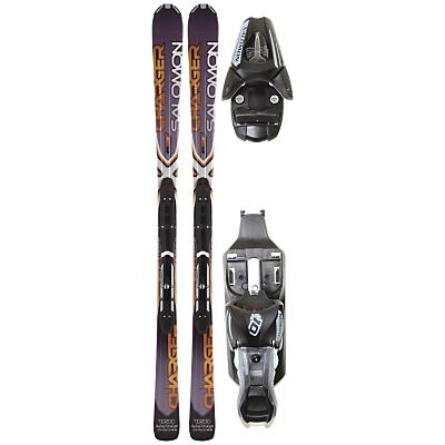 Salomon XW Charger Skis w/ L10 Bindings 2012- Men's