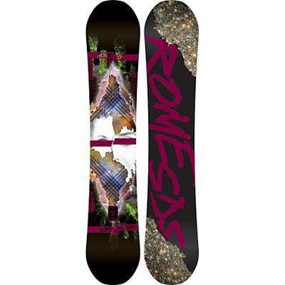Rome Lo-Fi Rocker Mountain Pop Snowboard 154 - Women's