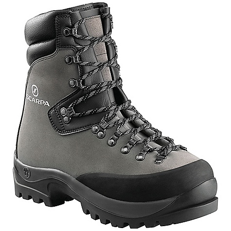 photo: Scarpa Wrangell GTX mountaineering boot